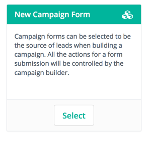 Campaign form for email marketing dobule opt-in