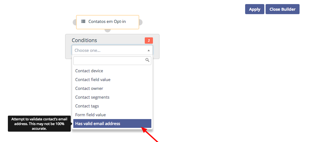 marketing email validation for campaign improvments