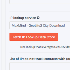IP Lookup in Platform