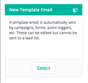 Template email marketing automation list opt-in
