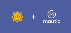 Mautic + Google Summer of Code Logos
